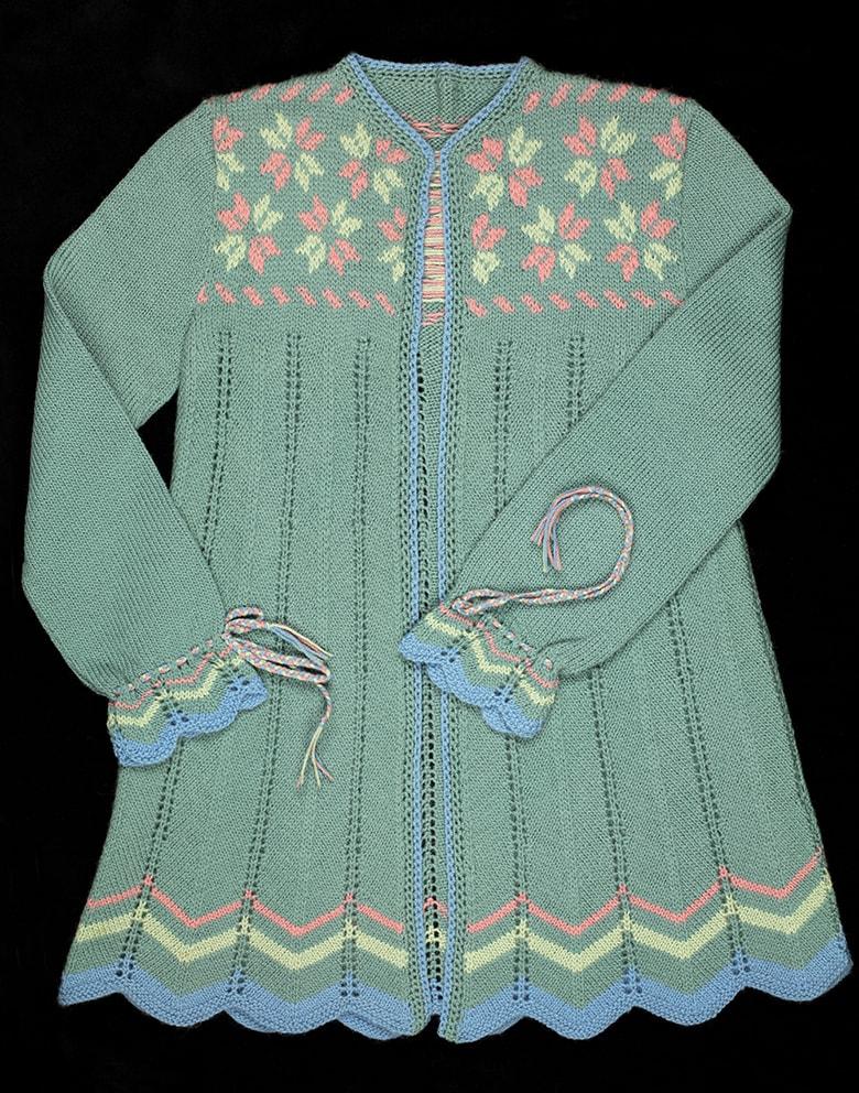 Jacket knitwear design by Alice Starmore
