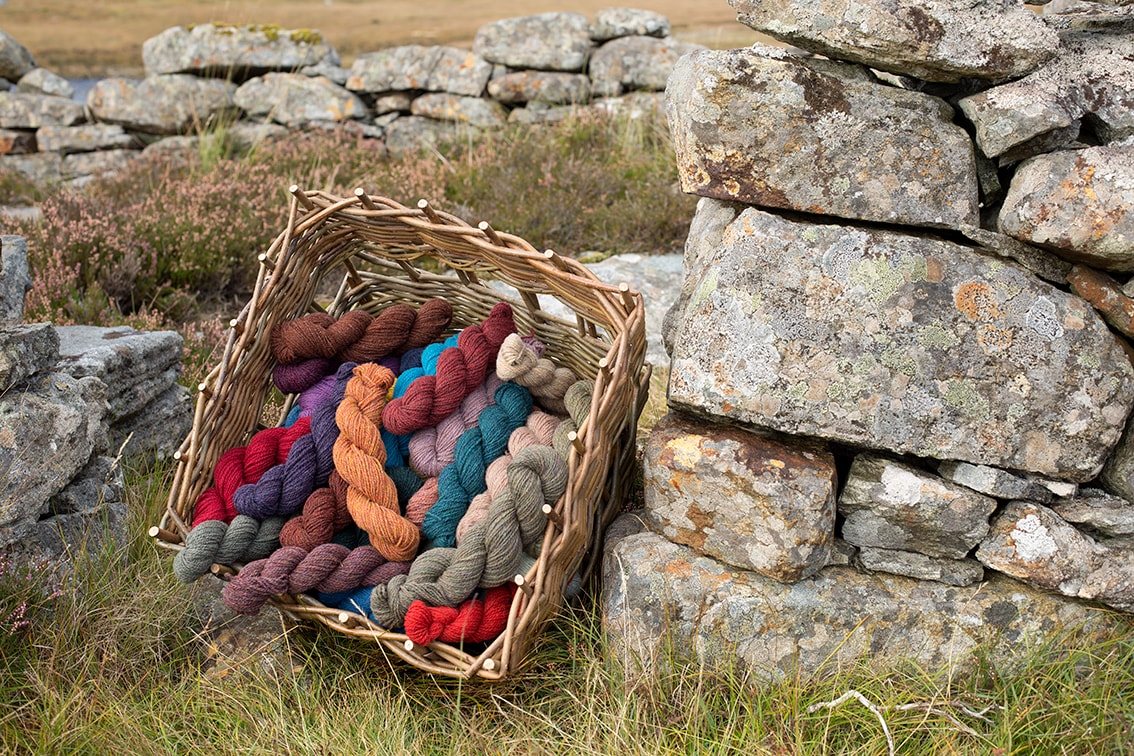 Alice Starmore Hebridean 2 Ply yarn for Virtual Yarns