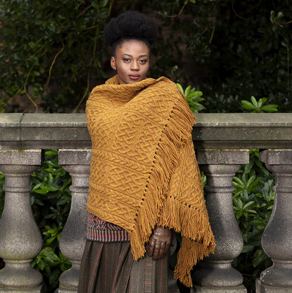 St Ciaran hand knitwear design by Alice Starmore from the book Aran Knitting