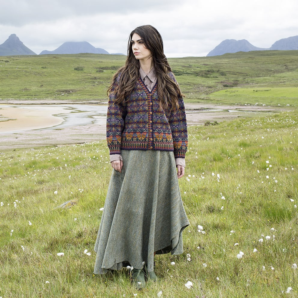 Oregon hand knitwear design by Alice Starmore from Virtual Yarns