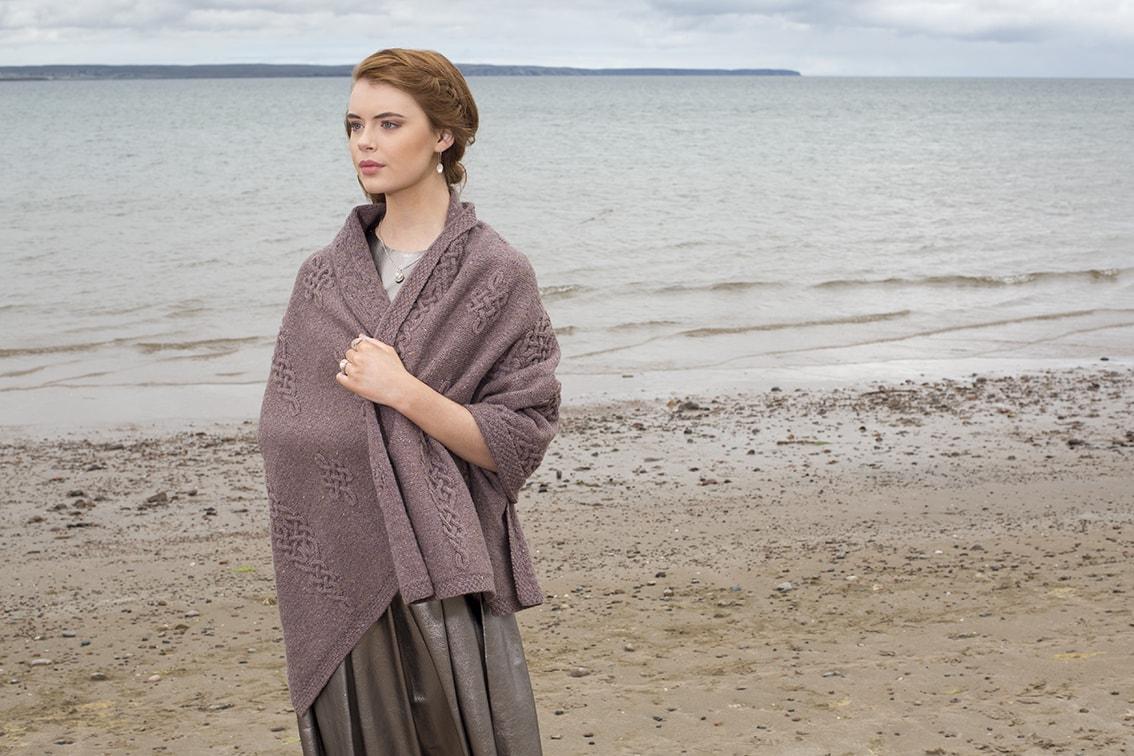Dunadd hand knitwear design by Alice Starmore for Virtual Yarns