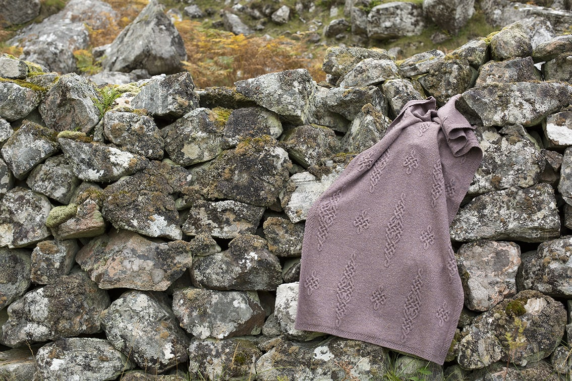 Dunadd hand knitwear design by Alice Starmore from Virtual Yarns