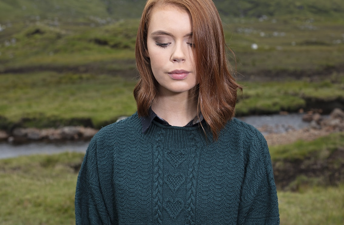Hand Knitwear design by Alice Starmore from the book Fishermen's Sweaters