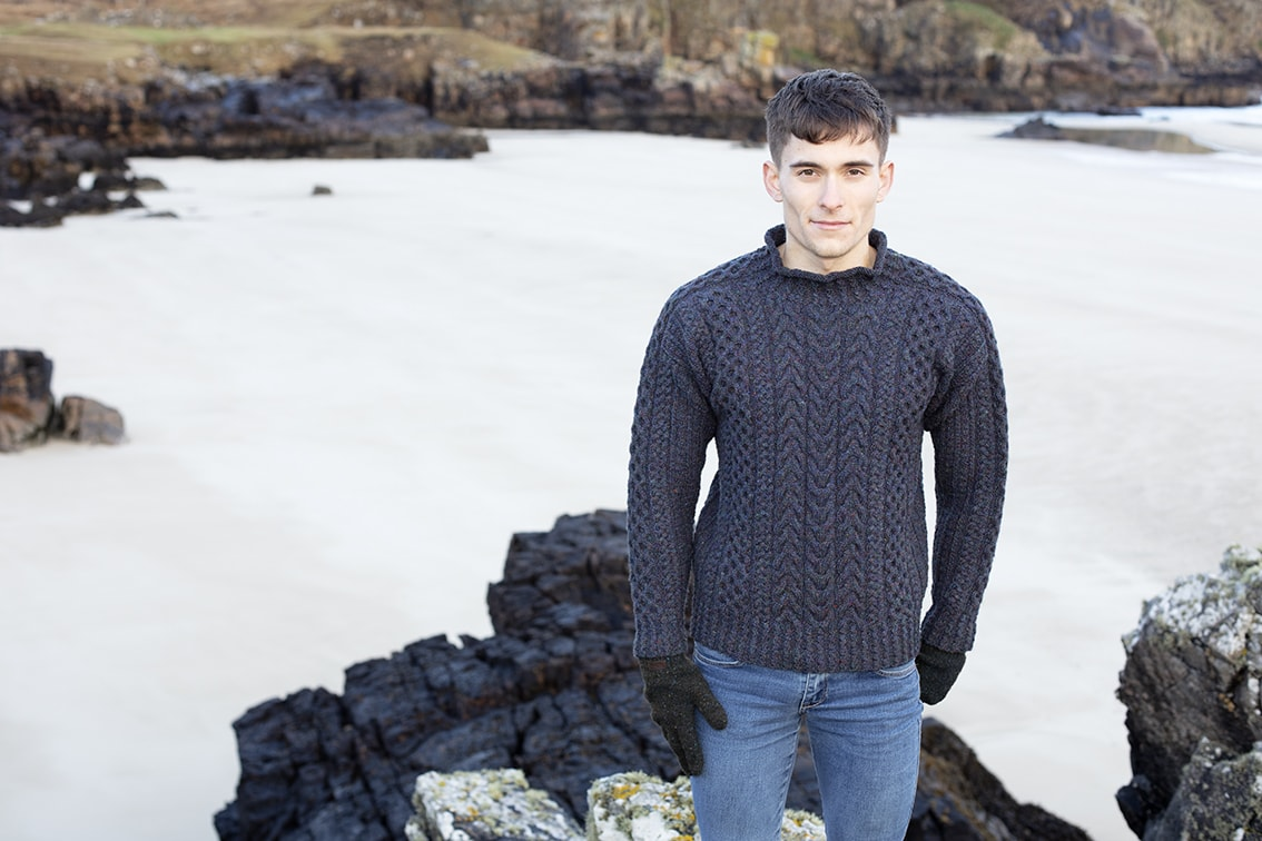 Na Craga hand knitwear design by Alice Starmore from the book Aran Knitting