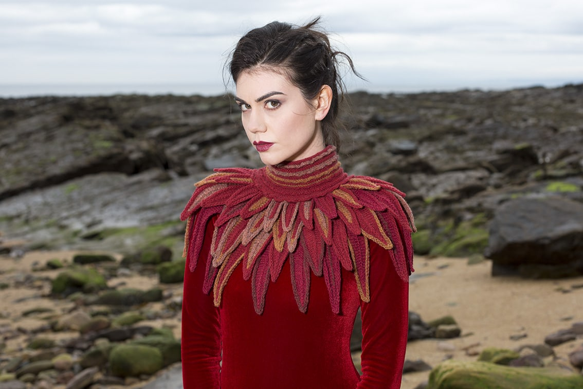 The Raven Collar by Alice Starmore from the book Glamourie