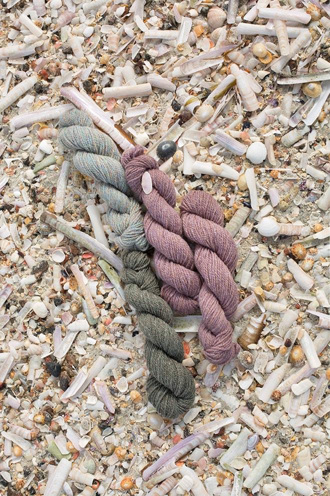 Alice Starmore Hebridean 2 Ply yarn for Virtual Yarns