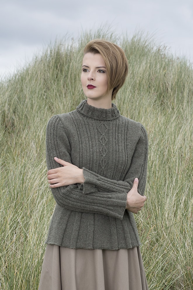Strathspey hand knitwear design by Alice Starmore for Virtual Yarns