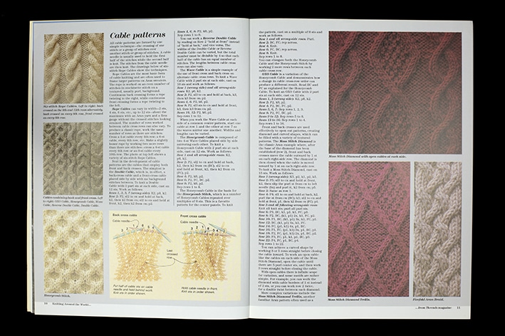 Hand Knitwear magazine article by Alice Starmore