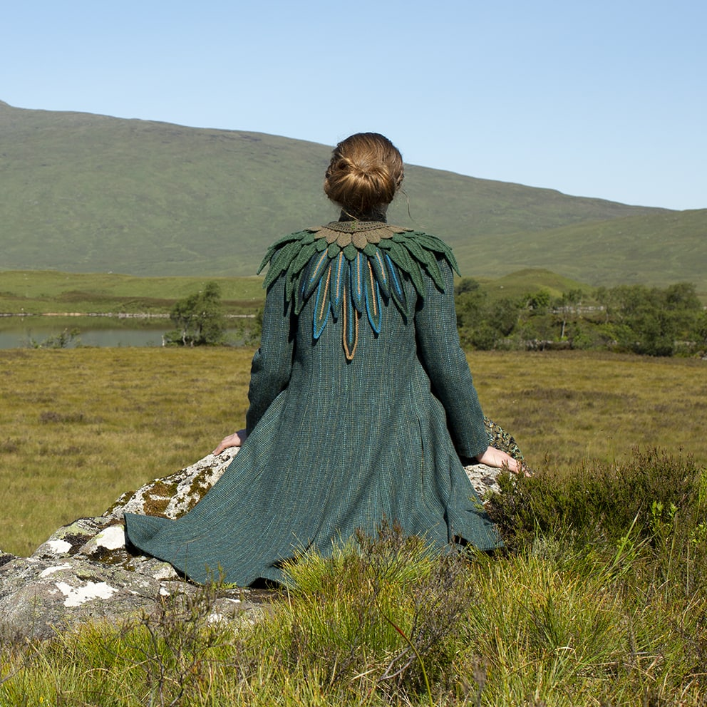 The Lapwing hand knitwear design by Alice Starmore from Virtual Yarns
