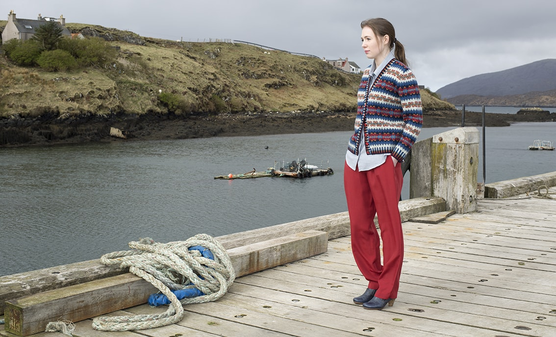 Wave hand knitwear designs by Alice Starmore for Virtual Yarns