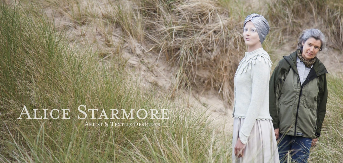 Hand knitwear designs and yarns by Alice Starmore for Virtual Yarns