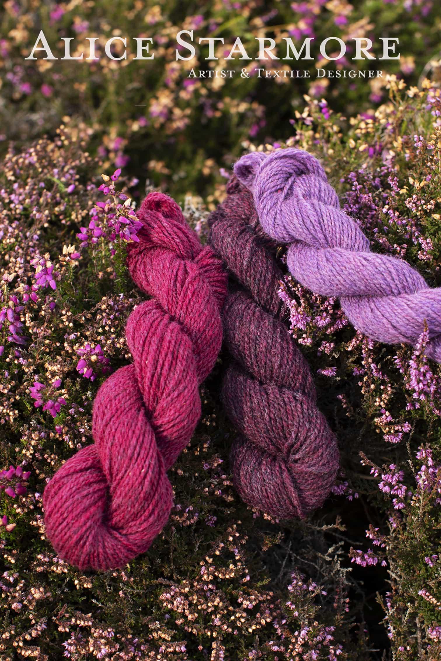 Alice Starmore Hebridean 2 Ply hand Knitting yarn for Virtual Yarns