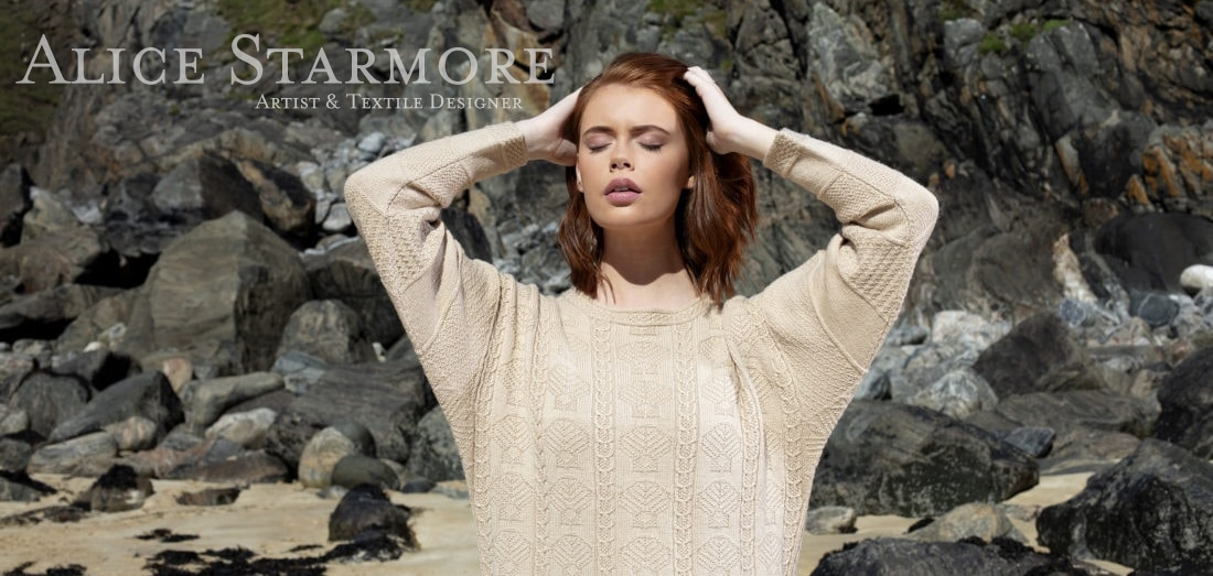 Hand knitwear designs and yarns by Alice Starmore