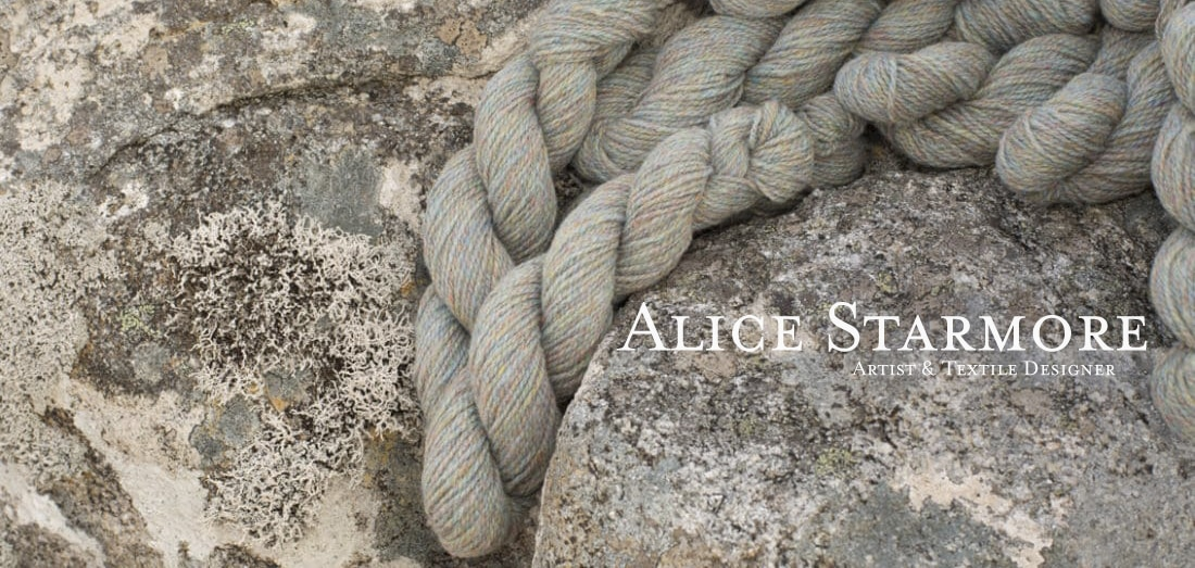 Alice Starmore Hebridean hand knitting yarn for Virtual Yarns
