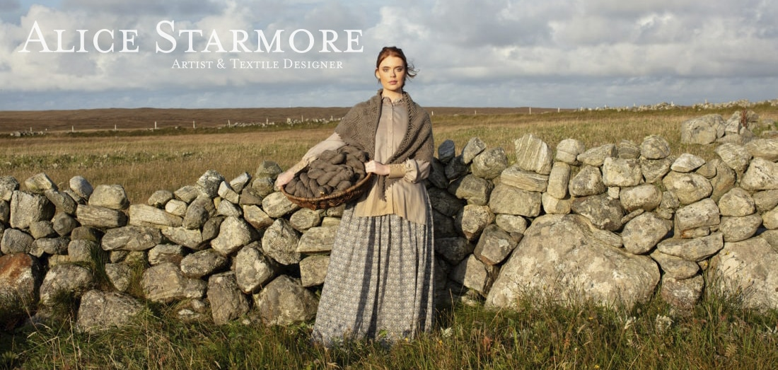 Sulaire hand knitwear design by Alice Starmore for Virtual Yarns