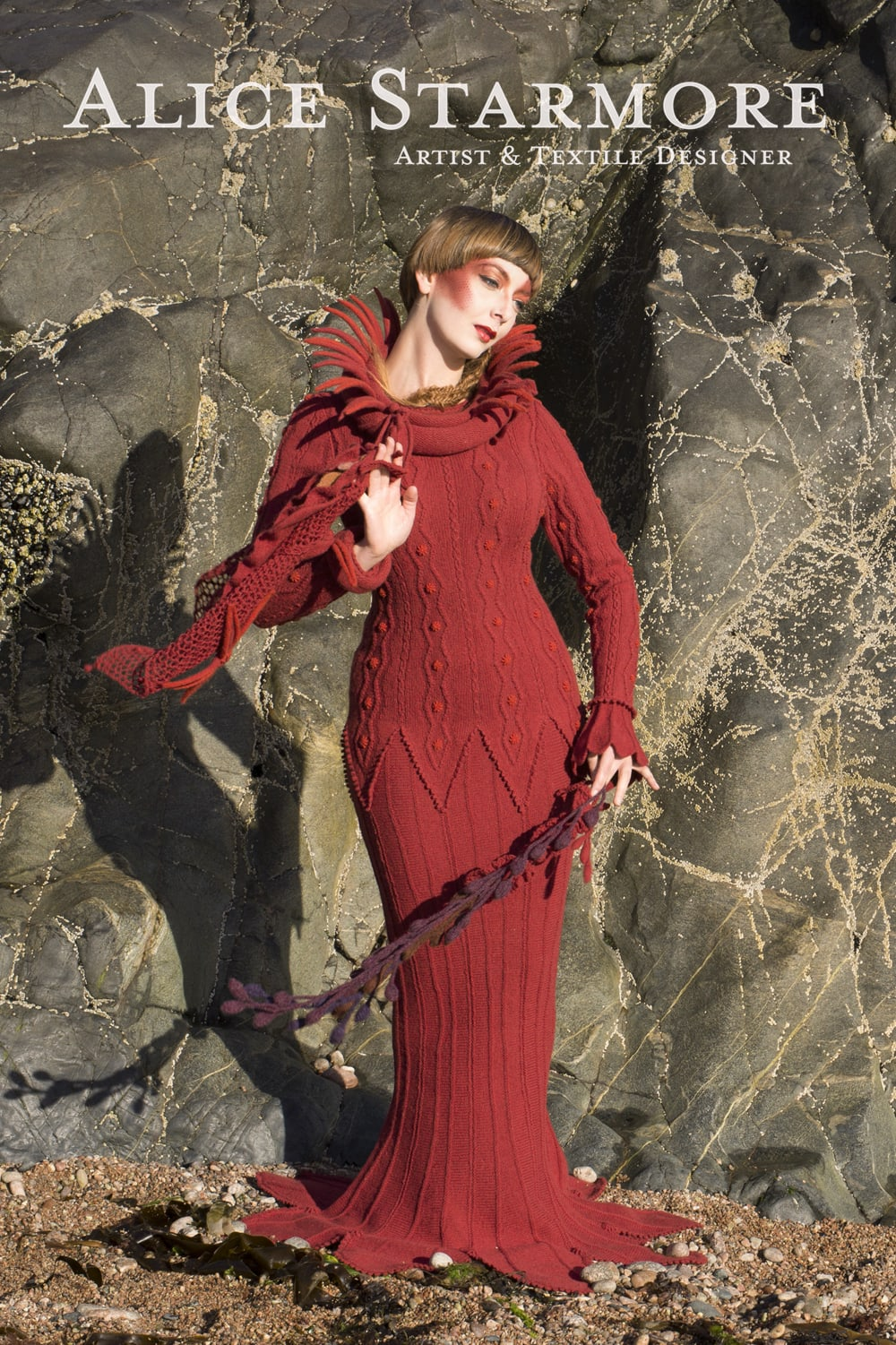 Hand knitwear design by Alice Starmore for Virtual Yarns